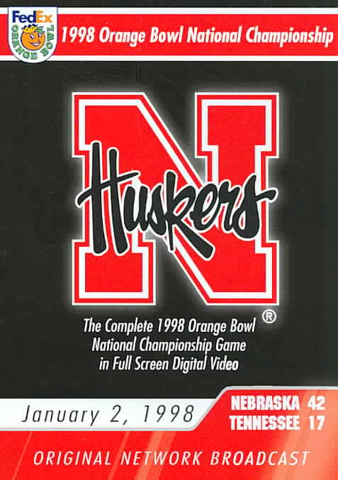 1998 ORANGE BOWL NATIONAL CHAMPIONSHI (DVD)